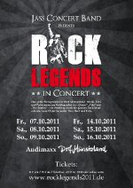 Rock Legends 2011 Plakat